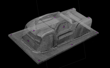 3D Data Collected from an RC Truck Body